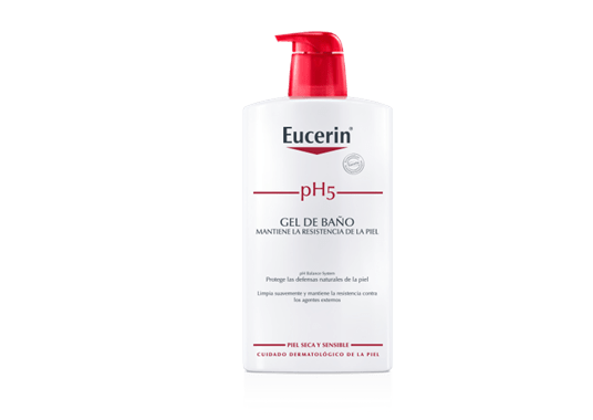Eucerin ph5 skin protection gel de ba o limpieza para la piel sensible y sometida al estr s de - Eucerin gel de bano ...