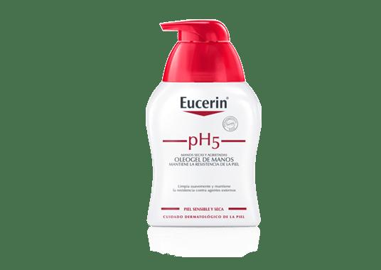 Eucerin pH5 Skin-Protection Oleogel de manos - Limpieza..