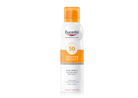 Eucerin Transparent Sun Spray Dry Touch FPS 50+