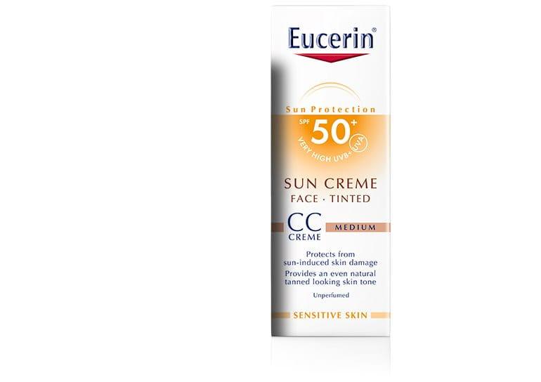 eucerin sun creme con color cc fp50. Black Bedroom Furniture Sets. Home Design Ideas