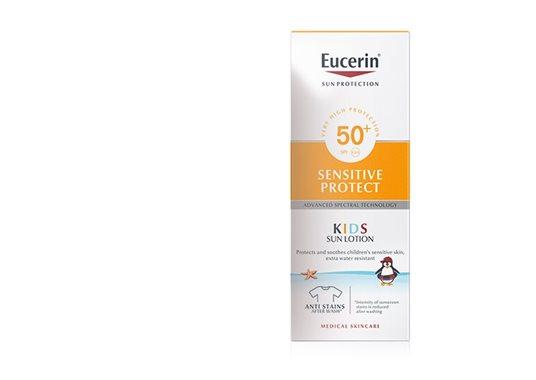 136688619fa3 Kids Sun Lotion Sensitive Protect FPS 50+. Protector solar con Advanced  Spectral Technology para niños