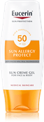 Eucerin Sun Cream Gel Sun Allergy Protect FPS 50