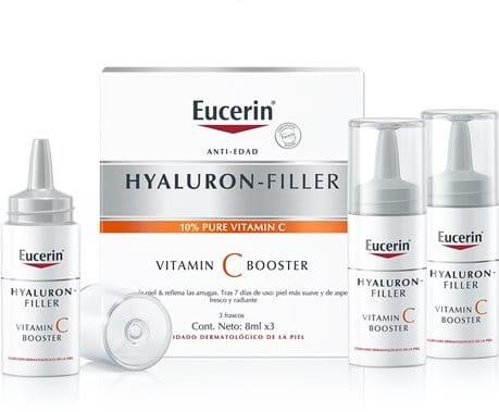 Resultado de imagen de hyaluron filler vitamin C booster